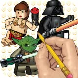 How to Draw: Lego Star Wars Movie Characters