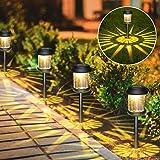 Lampes Solaires Jardin Kdorrku 6 Pièces Éclairage Solaire Extérieur Étanche Lumière Solaire Extérieure à LED Éclairage Solair