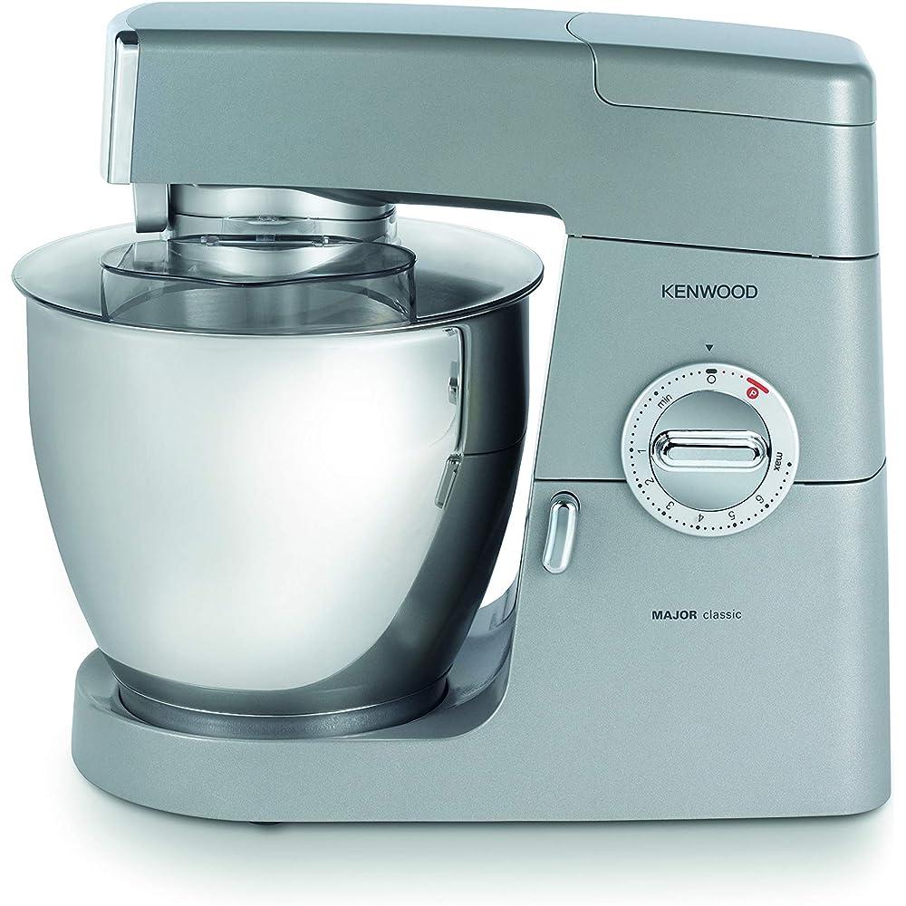Kenwood , impastatrice planetaria classic major, robot da cucina mixer, 900 w, 6.7 litri 0W20011060