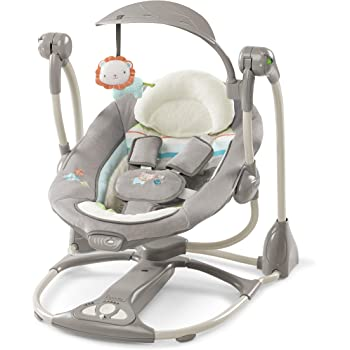 d27e765f6 Graco Simple Sway Swing - Stratus  Amazon.co.uk  Baby