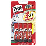 Pritt Barra Adhesiva, pegamento infantil seguro para niños para manualidades, cola universal de adhesión fuerte para estuche