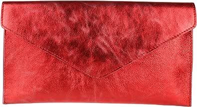 Girly HandbagsVioletta - Sacchetto donna, rosso