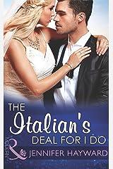 The Italian's Deal for I Do (Mills & Boon Modern) (Society Weddings, Book 1) Kindle Edition