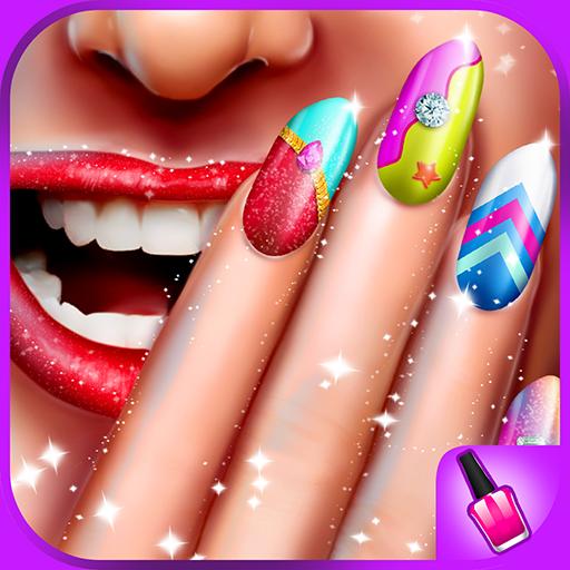 Candy Nail Art Salon - Süßes Spa Fashion Makeover für Mädchen - Maniküre Magie
