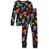 Amazon Essentials Niño Disney Star Wars Marvel Conjuntos de pijamas de algodón con corte ajustado