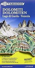 Dolomites Road Panoramic Map 1 : 200 000: Panoramakarte und Strassenkarte