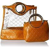 مجموعة حقائب اليد للنساء - بني