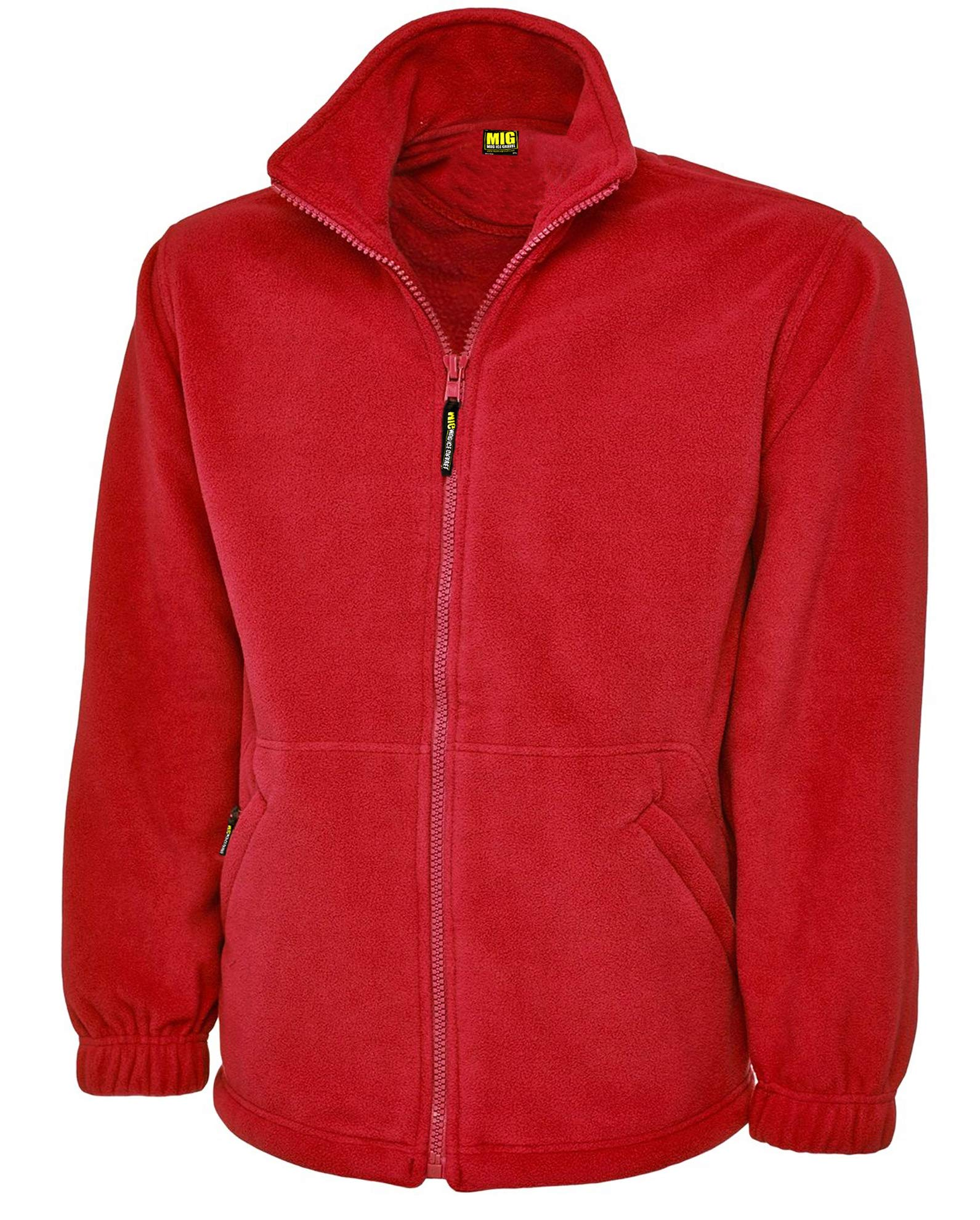 817OoxuNYmL - Ladies Full Zip Classic Fleece Jackets Sizes 8 to 30 - SUITABLE FOR WORK & LEISURE