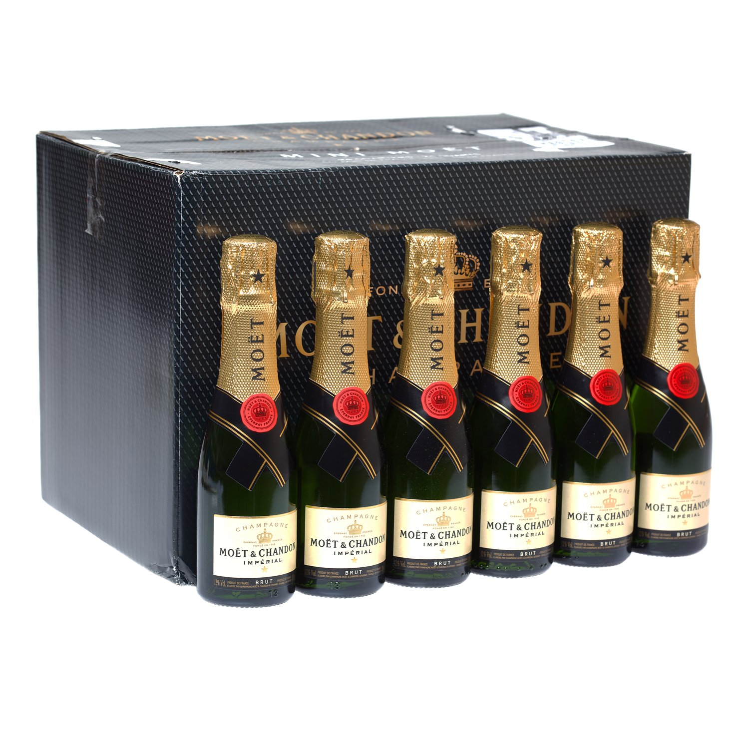 Moet and Chandon Brut Imperial Champagne 20 cl (Case of 24)
