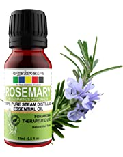 Organix Mantra Rosemary Essential Oil 15ML, for Skin, Muscle & Joints, Hair Conditioner - 100% Pure Therapeutic Grade