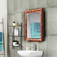 Nilkamal Gem Mirror Cabinet, Mango Wood