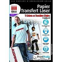 Micro applicazione – Carta da disegno – Trasferimento Tessile Laser, 5 Pezzi