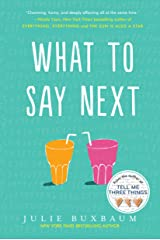 What to Say Next Paperback