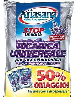 24 x ARIASANA Antiumidit/à Cristalli Ricarica Universale Lavanda 450 GR