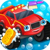 Lavage de voitures - Monster Truck
