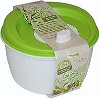Gies Essoreuse à salade Ø 25 x 16 cm sans BPA recyclable vert/blanc – Fabriqué en Allemagne