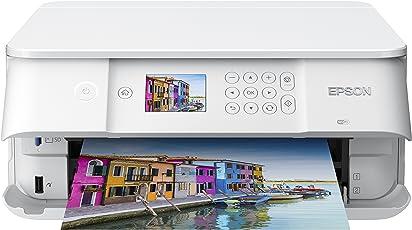 Epson C11CG18404 Expression Premium XP-6005 3-in-1 Tintenstrahl-Multifunktionsgerät (drucken, scannen, kopieren, WiFi, Duplex, CD/DVD Druck, Einzelpatronen, 5 Farben, DIN A4) weiß
