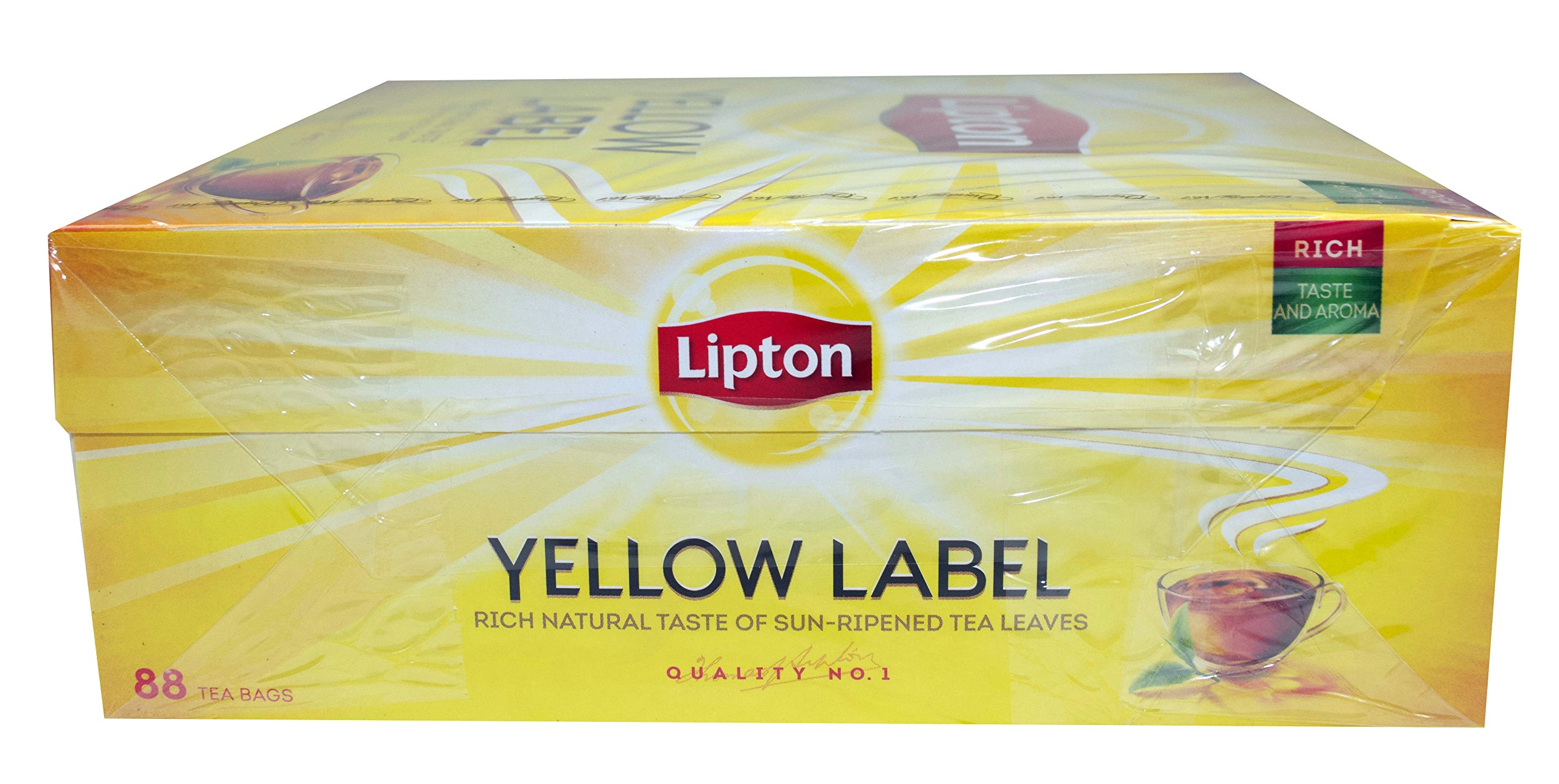 Lipton-Yellow-Label-Tea-Quality-No-1-88-Teebeutel-Schwarzer-Tee