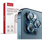 Baytion för iPhone iPhone 12 Pro (6,1 tum) kameralinsskydd, premium HD härdat glas aluminiumlegering linsskärm styker skyddsf