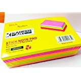 KABEER ART Sticky Notes 3 x 5 Inch Pads 4 Colors (400 Sheets)