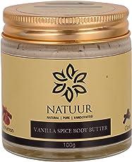 NATUUR Vanilla Spice Body Butter, 100 grams