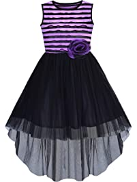 e4a19e3666 Amazon.co.uk: Dresses - Girls: Clothing: Special Occasion, Casual & More