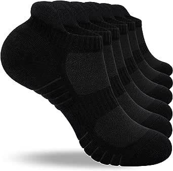 Benirap Running Socks Trainer Socks, Breathable Sports Socks for Men, Anti Blister Womens Socks Ladies Ankle Socks Walking Socks Work Socks 3 Pairs 6 Pairs