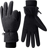 Anqier Winter Gloves,-15℉(-26℃) Cold Proof Thermal 3M Thinsulate Warm Touchscreen Cold Weather Gloves Men Women for Smartphone Texting Cycling Riding Running Skiing Outdoor Sports