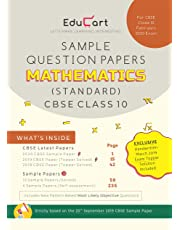 CBSE Sample Question Papers Class 10 Mathematics (Standard) for February 2020 Exam
