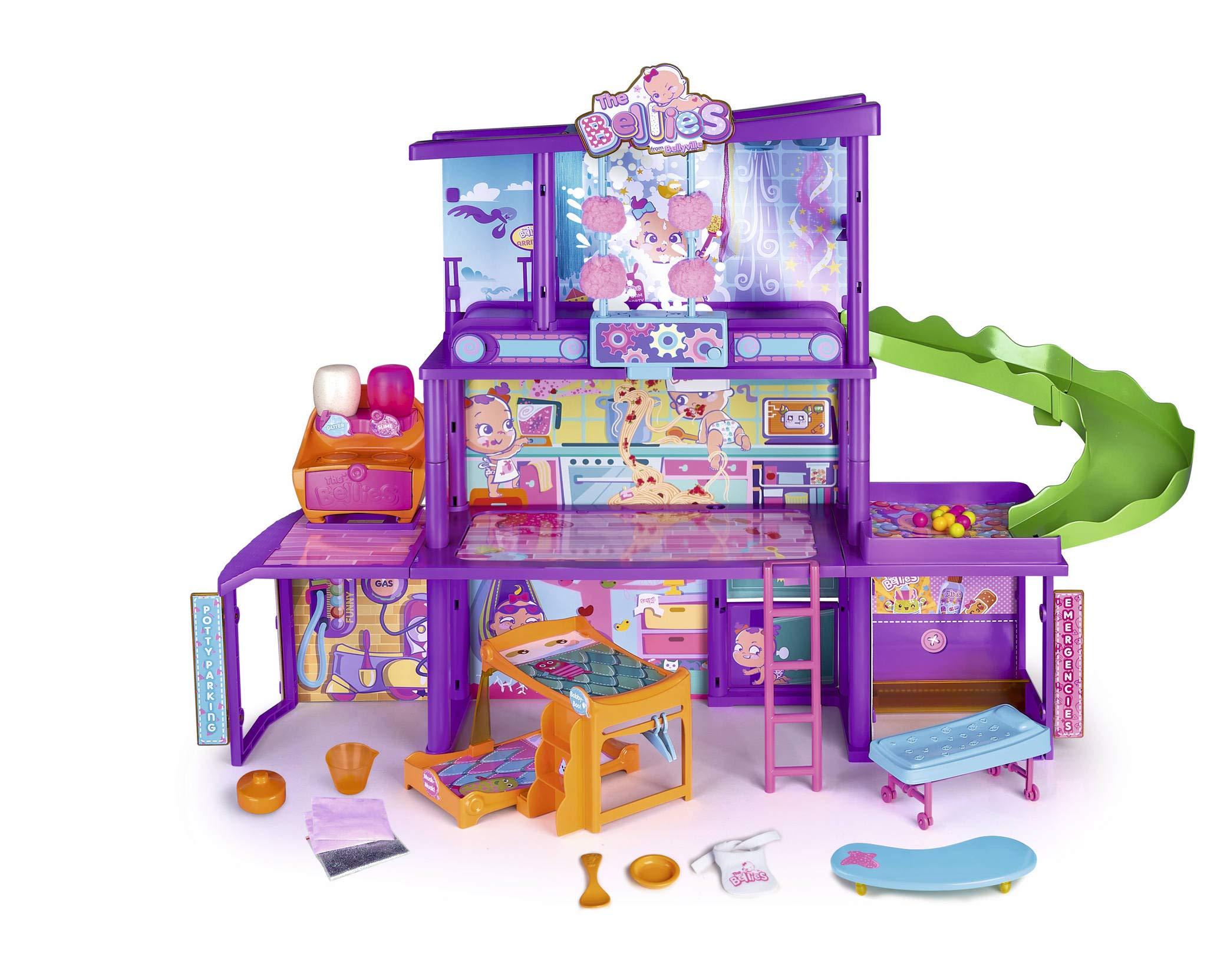 The Bellies – Bellies' House, Casa de Los Bellies para Niños y Niñas a Partir de 3 Años, Multicolor (Famosa 700015271)