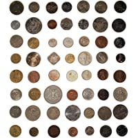 NOVELTY COLLECTIONS 55 World Coins (All Different)