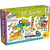 Lisciani Giochi- Carotina 50 Giochi per Bambini, Multicolore, 76710