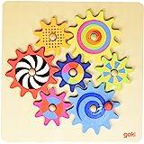 Zahnradspiel: 20,5 x 20,5 cm, Holz, 8 Teile, per Stück