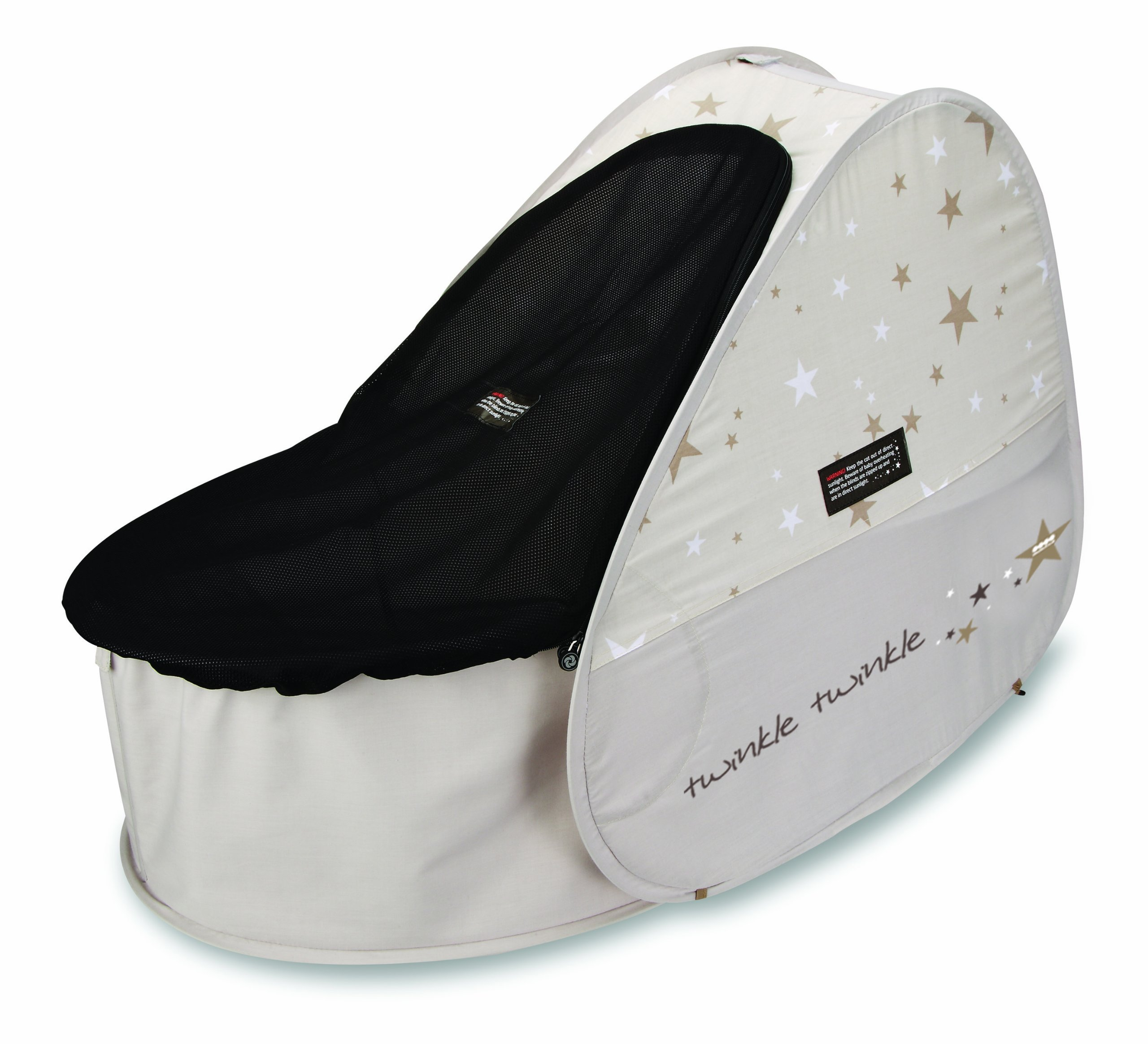 Koo-di 80 x 50 x 58 cm Sun and Sleep Pop Up Travel Bassinette  A comfortable bassinette ideal for use at home and on holidays or weekends away A polycotton travel bassinette Ideal up to 6 months or until baby can sit unaided 1