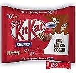 KitKat 16-Piece Chunk Mini Milk Chocolate Bar, 250 g