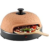 Ultratec Pizzarette Classic XXL, Forno per Pizza con Piastra in Metallo - per Una Pizza con 25 Cm di Diametro