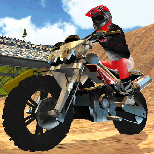 Dirt Bike Motocross Rally (Bike Baron Spiel)