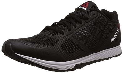 reebok mens shoes. reebok men\u0027s crosstrain sprint 2.0 black and white multisport training shoes - 6 uk/india mens