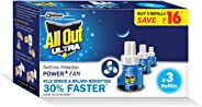 All Out Ultra Power+ FAN (3 refills pack)