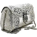Trend Overseas women gift bridal bag Brass Metal Clutch Sling Bag Indian Ethnic Antique clutch