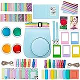 ZWOOS 10 en 1 Accesorios Compatible con Instax Mini 11, Incluida Funda para cámara, álbum y Otros Artículos para Recopilar y