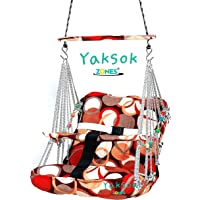 Cotton Swing Chair For Kids Baby's Children Folding & Washable 1-8 Years With Safety Belt-Indoor Swing For Kids | Baby…