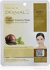 Dermal Korea Collagen Essence Full Face Facial Mask Sheet - Snail (10 Pack) by ninetong