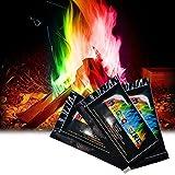 Gneric 3pc Flamme Fleck Bunte Flamme Farbwechsel Powder Party und Festival Supplies (Multicolor)