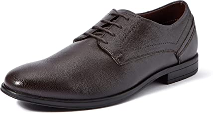 Extacy By Red Chief EXT113 Men's Brown Formal Leather Shoes