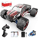 DEERC RC Cars 9300 High Speed Remote Control Car for Kids Adults 1:18 Scale 40 KM/H 4WD Off Road Monster Trucks,2.4GHz All Te
