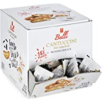 Belli Cantuccini alle mandorle (1x 600g) | 60x Kekse pro Box | Gebäck mit Mandeln aus Italien | einzeln verpackte Kekse…