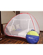 Classic Mosquito Net Embroidery Foldable Double Bed