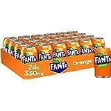 Fanta Orange 24 x 330ml Cans