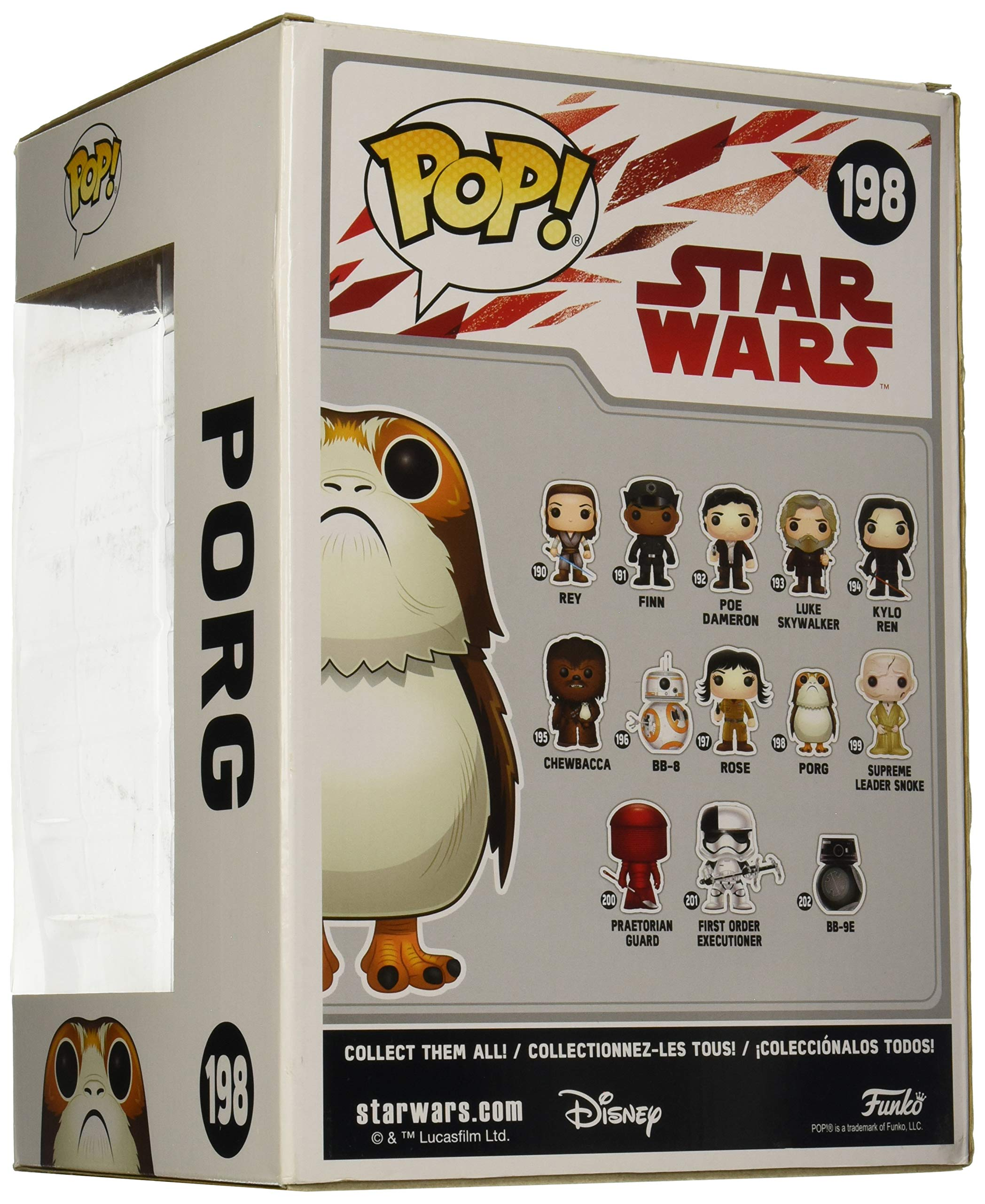 Funko Pop Porg Grande – 25 cm (Star Wars 198) Funko Pop Star Wars